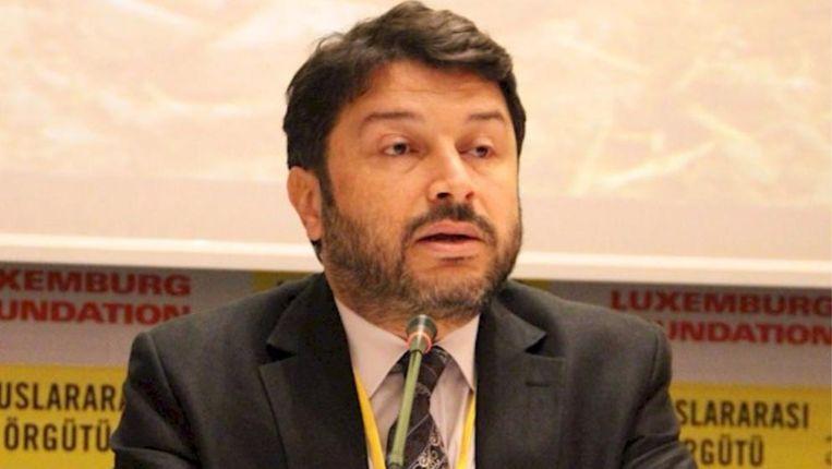 De voorzitter van Amnesty Turkije, advocaat Taner Kilic, werd begin juni al gearresteerd. Kilic wordt beschuldigd van lidmaatschap van de Gülen-beweging. Ten onrechte, zegt de mensenrechtenorganisatie. Beeld RV