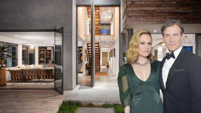 BINNENKIJKEN. 'True Blood'-acteurs Anna Paquin en Stephen Moyer verkopen villa voor 13 miljoen euro
