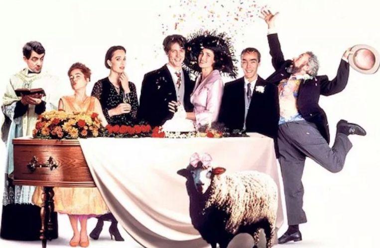 De cast van 'Four Weddings And A Funeral' komt weer samen.