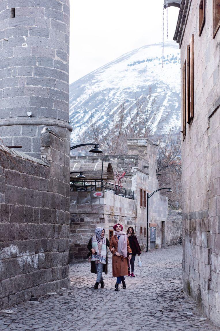 Oude Armeense wijk in Kayseri. Beeld Katja Poelwijk