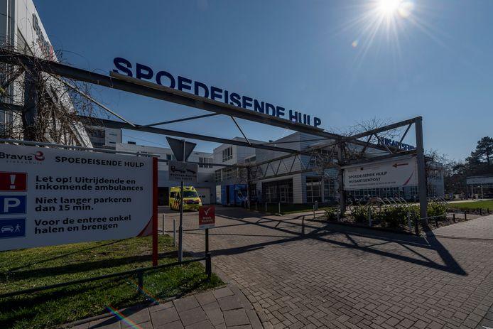 Ingang Spoedeisende Hulp van Bravis in Bergen op Zoom