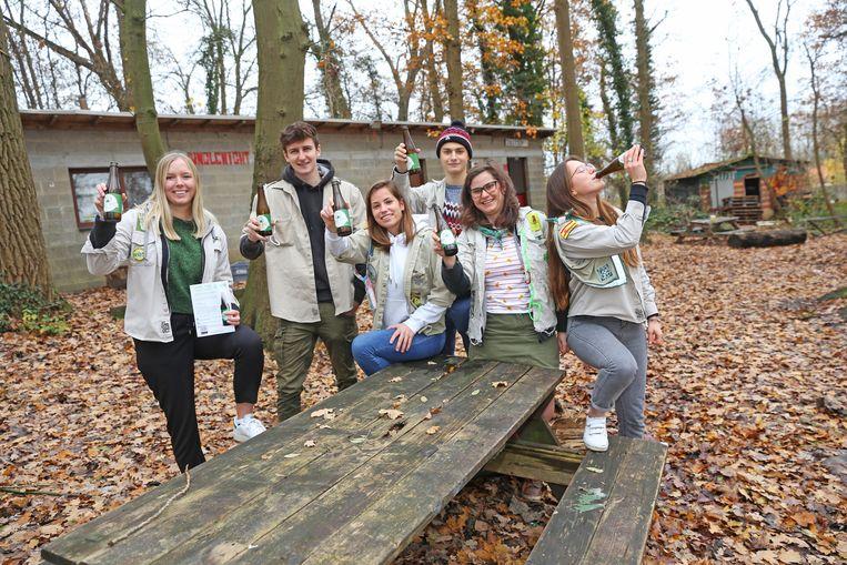 De scoutsleiding neemt volgend jaar afscheid van de oude en versleten lokalen.