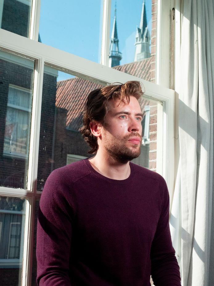 Portret van schrijver Daan Heerma van Voss