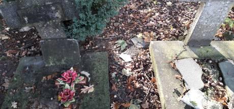 Nabestaanden gaan dan maar zelf schoffelen op 'griezelkerkhof' in Tilburg