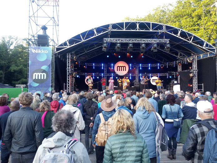 Music Meeting Festival in Park Brakkestein.