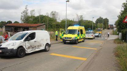 Zware klap aan Kruiskoutermolen: 2 wagens total loss