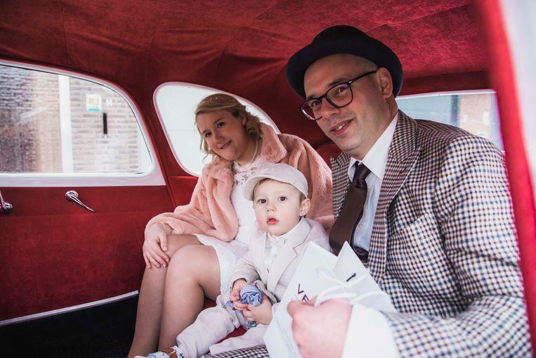 Jelke en Bert trouwden op 20/02/2020 in Hasselt. Ook hun zoontje Arthur was van de partij.