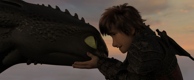 De 3D in deze film geeft geen moment het gevoel dat je aandacht gegijzeld wordt. Beeld How to train your dragon: the hidden world