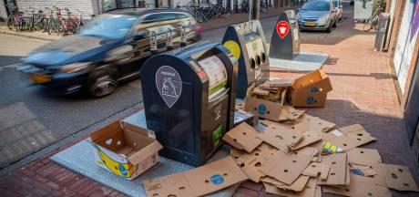 Containertuin rekent af met afval naast de prullenbak: 'Zo'n tuintje bevuil je toch niet'