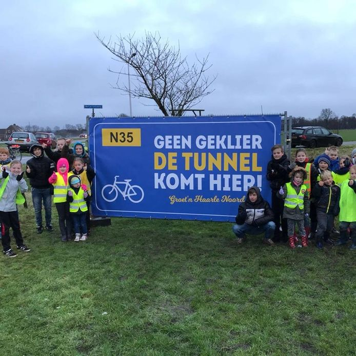 De drie lokale partijen in de gemeente Hellendoorn steunen de wens van de Inwoners van Haarle-Noord, die een tunnel onder de N35 willen hebben ter hoogte van de Koersweg en Meijerinksweg.