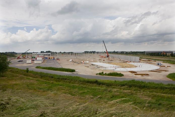 Aan de westkant van Ede is een nieuw bedrijventerrein in aanbouw.