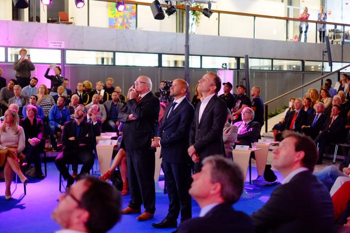Ahmed Marcouch tijdens zijn aanstelling als burgemeester van Arnhem.