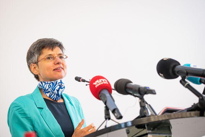 Antwerps gouverneur Cathy Berx.