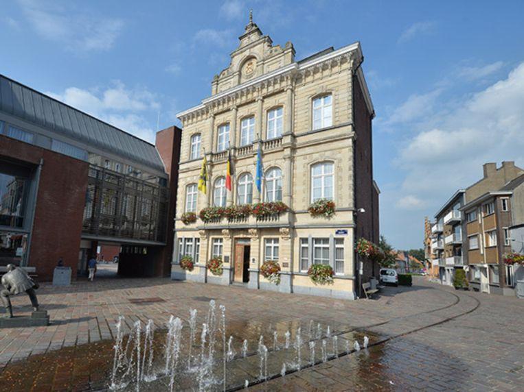 Het stadhuis van Tielt