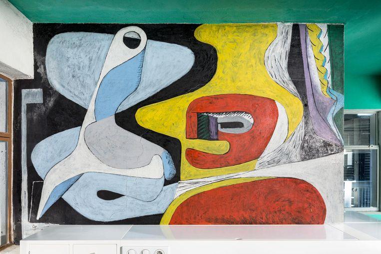 Een schilderij van Le Corbusier. Beeld Manuel Bougot