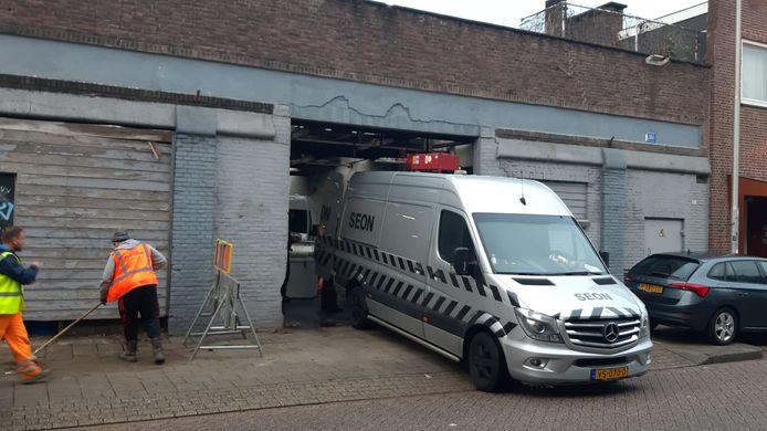 Aan de Lange Nieuwstraat werden ook ketels gevonden.