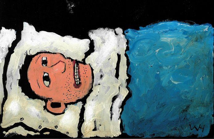 Wim Hofman illustratie Zzzzzzzzzzz