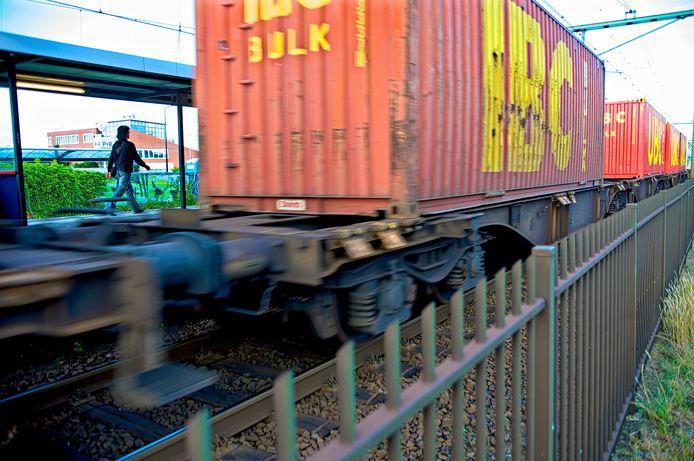 Het spoorvervoer op de Brabantroute is fors toegenomen.