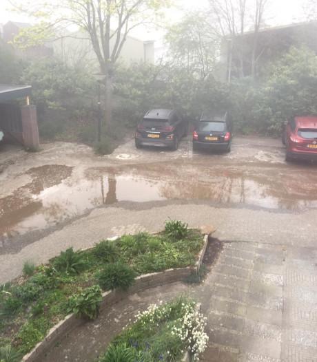 Breuk in de waterleiding, 77 huishoudens in Apeldoorn zonder water