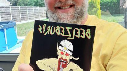 """Zanger en striptekenaar Pies lanceert nieuw album: """"Opgedragen aan overleden uitgever vorige strips"""""""