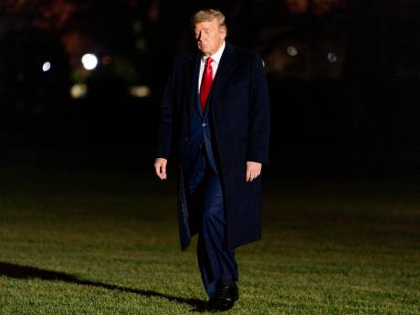 La fin du mandat de Trump annoncée sur le site officiel de la diplomatie américaine