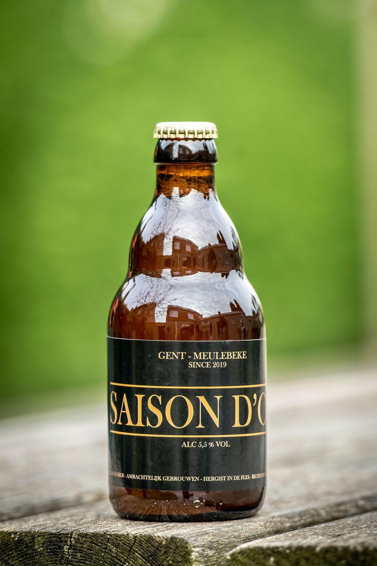 Het nieuwe biertje 'Saison d'Or'