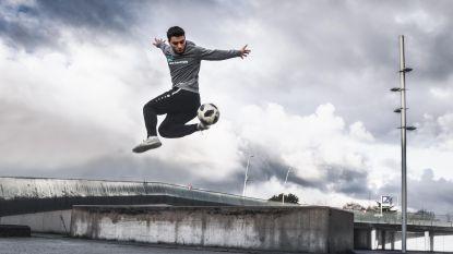 Freestyle voetballer Younes Ghezzal mag verder zijn  talent tonen aan Vlaanderen