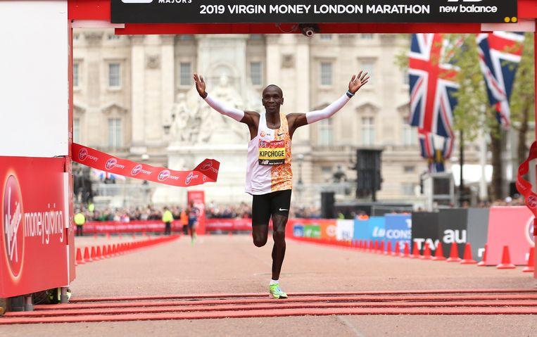Marathon Londen, 4 oktober. Beeld BSR Agency