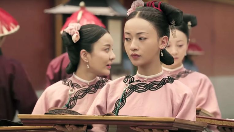 Naaister Wei Ying Luo (gespeeld door Wu Jinyan) komt snel hogerop in 'Story of Yanxi Palace'. Beeld iQiyi