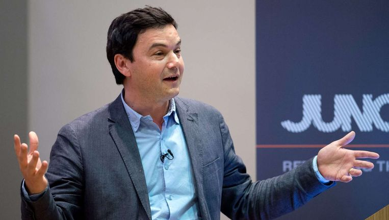 De Franse econoom Thomas Piketty. Beeld afp