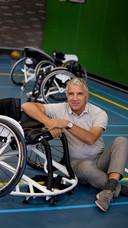 Wim Ludeke als bestuurslid NOCNSF met aandachtsveld voor gehandicaptensport.