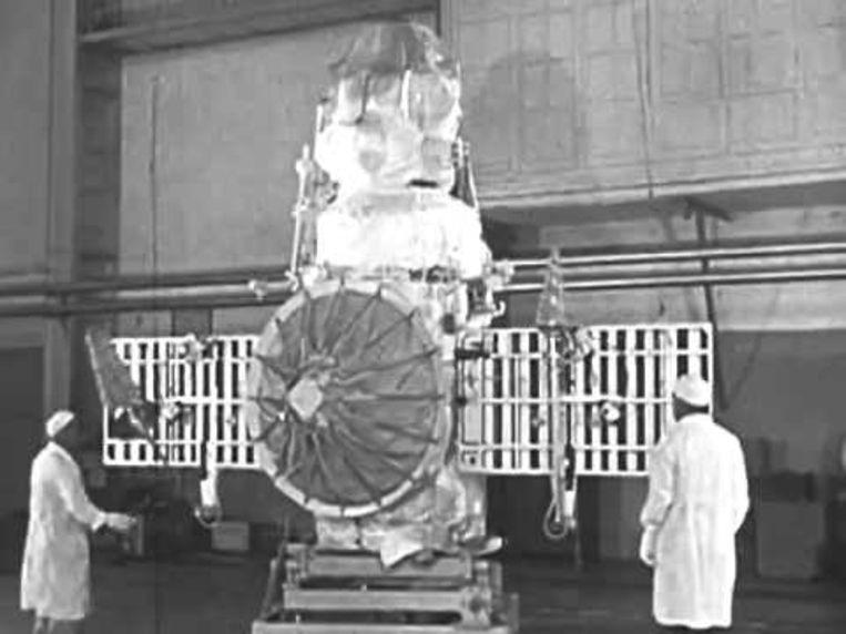 De Venera 8 die in 1972 door de Sovjet-Unie gelanceerd werd.