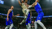 Zegereeks Milwaukee komt ten einde tegen Dallas, Oklahoma met straffe comeback