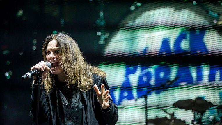 Zanger Ozzy Osbourne in 2016 Beeld epa