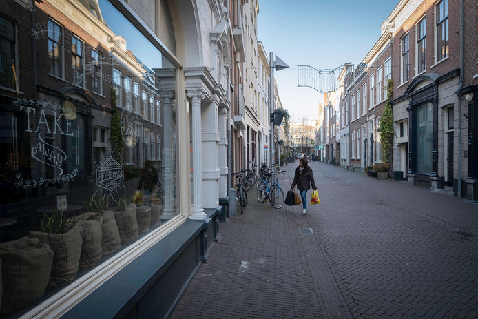 De Kerkstraat in Arnhem.