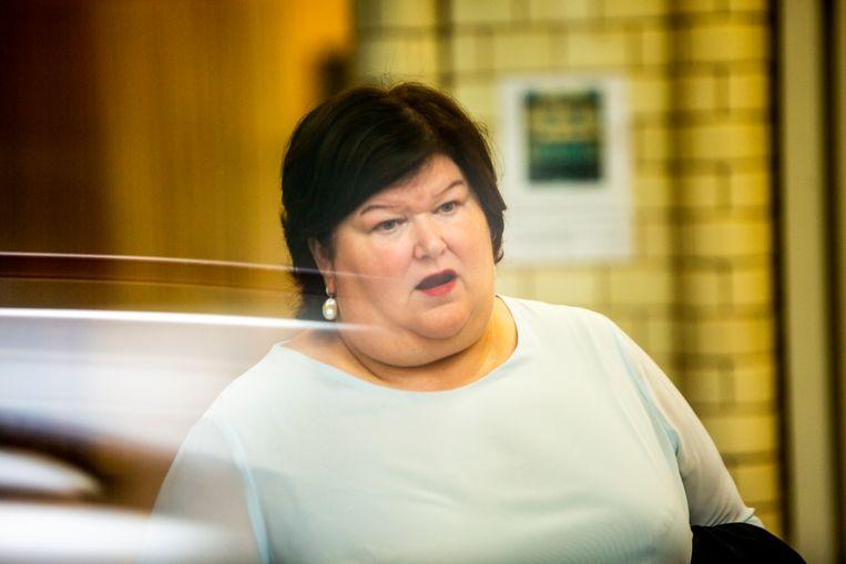 Minister van Volksgezondheid Maggie De Block (Open Vld)