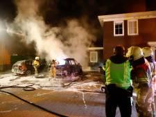 Weer autobrand in zelfde straat in Cuijk