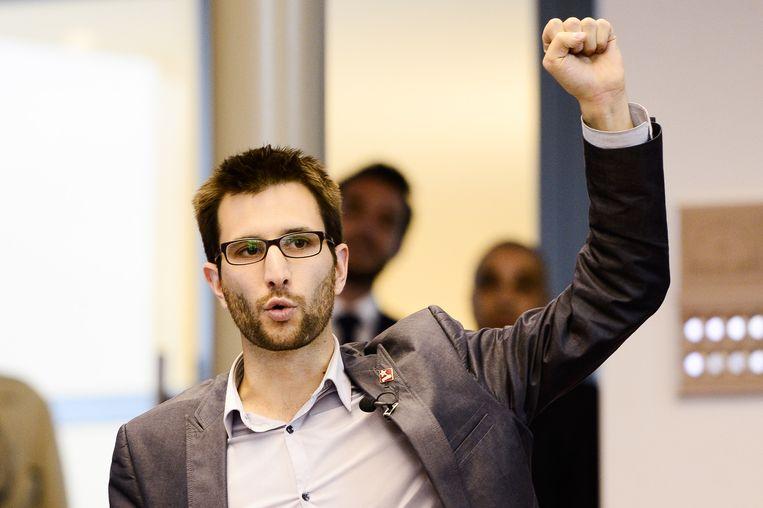 Michael Verbauwhede, lid van het Brusselse parlement.
