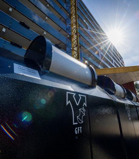 Plan voor afschaffen afvalkorting bij Veenendaalse hoogbouw valt slecht
