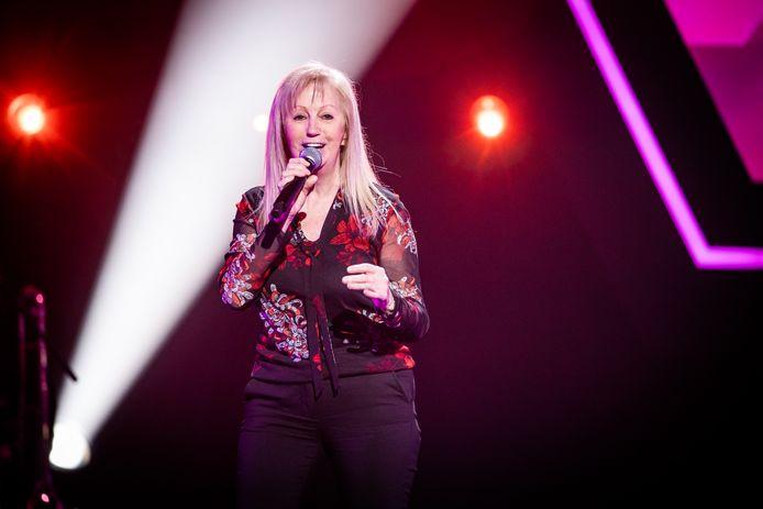 Gerda Seyen tijdens de blind auditions van The Voice Senior.