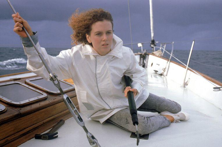 Nicole Kidman in Dead Calm (1989). Beeld
