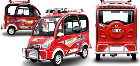 Elektrische auto voor 840 euro, bij Alibaba