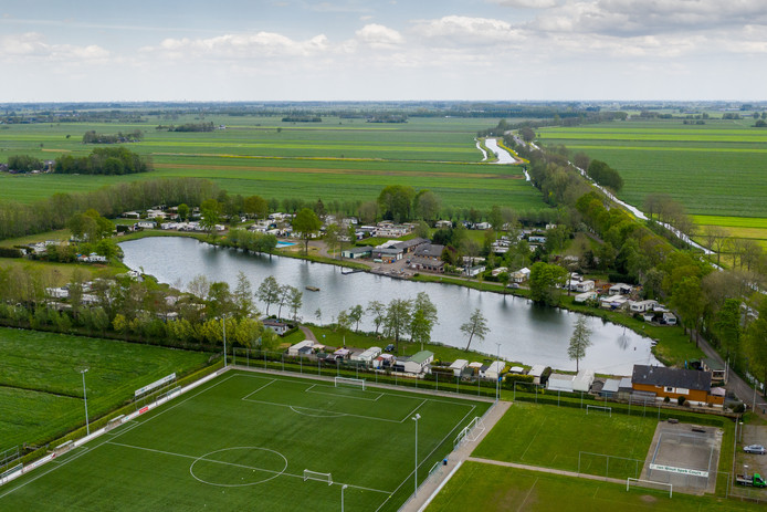 drone beelden camping de put Ottoland april 2019
