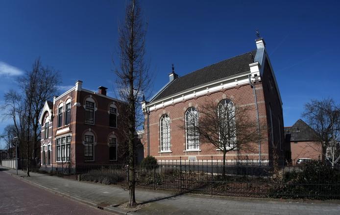 De synagoge in Winterswijk.