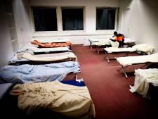 Daklozen kunnen 's nachts slapen bij Het Kompas in Gouda