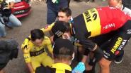 """Enorme ontgoocheling bij Jumbo-Visma, aangeslagen Roglic: """"Ik heb daarnet geweend"""""""