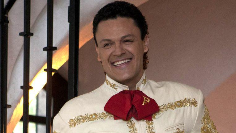 De Mexicaanse zanger Pedro Fernandez poseert voor zijn nieuwe cd. Beeld ap