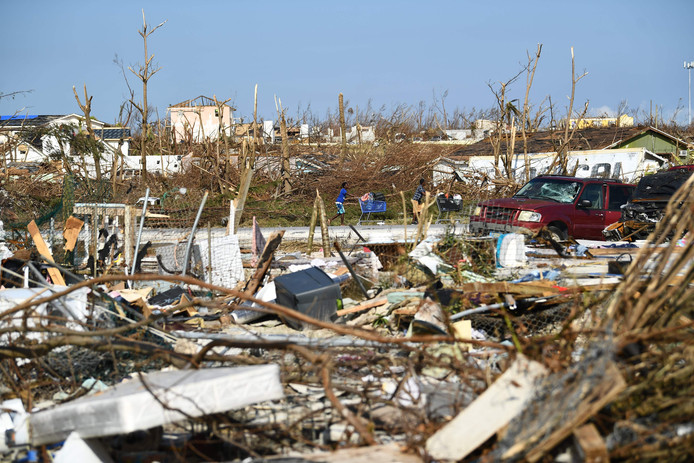Marsh Harbour après l'ouragan
