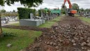 Werken aan begraafplaats Ter Ruste opgestart