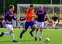 02-06-2019: Voetbal: SV Valkenswaard v FC Engelen: ValkenswaardNacompetitie seizoen 2018-2019L-R Martijn Sax van sv Valkenswaard, Anthony Lurling van FC Engelen